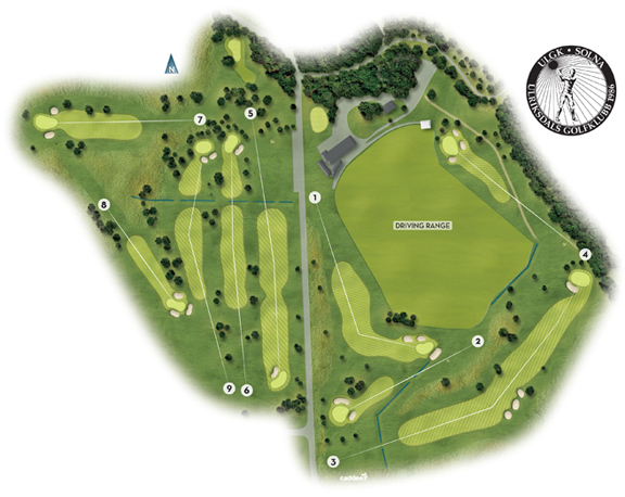 Karta Over Golfbanor I Sverige.Golfbanan Hos Fairway Golf Ulriksdal Solna Stockholm